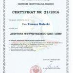 Certyfikat UE