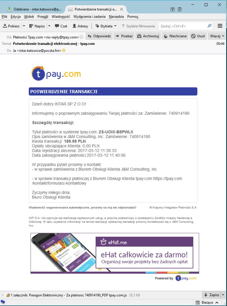 Kampania Przestępców Tpay