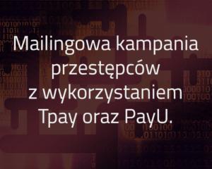 Mailingowa kampania przestępców